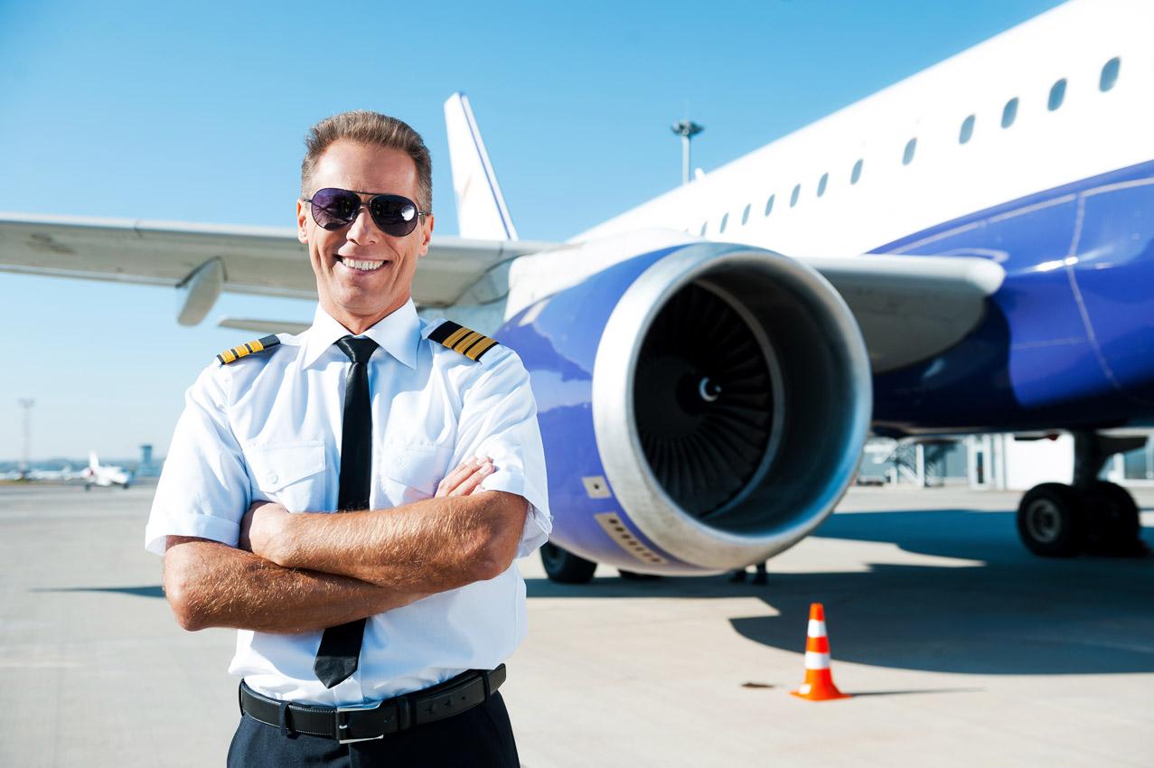 confident pilot