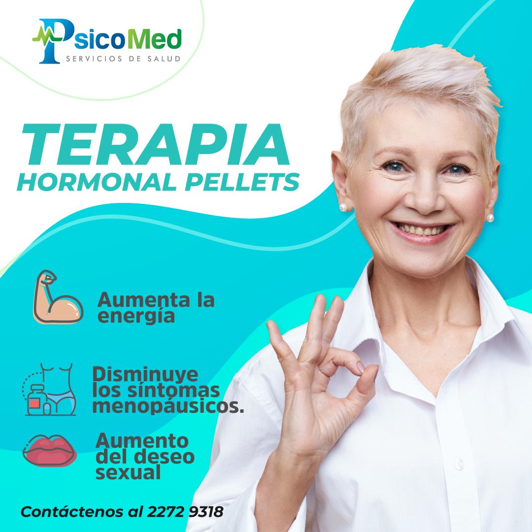 terapia hormotal pellets
